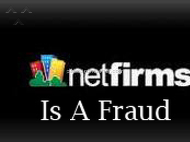 Netfirms Is Fraudulent