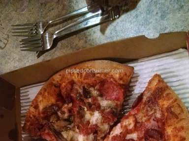 Marcos Pizza - Pizza Review from Mobile, Alabama