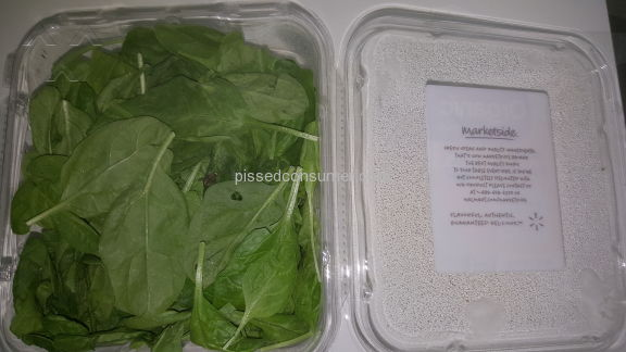 Marketside Baby Spinach