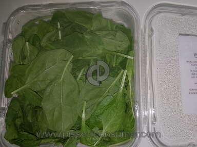 Walmart Marketside Baby Spinach review 231824