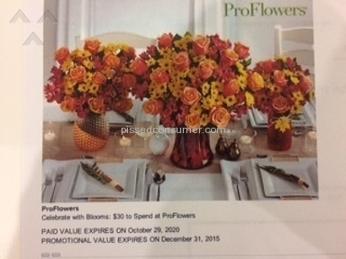 ProFlowers Coupon review 101617