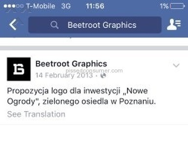 Beetroot Graphics Logo Design review 143956