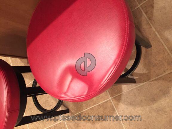 Grandin Road Dublin Swivel Bar Chair