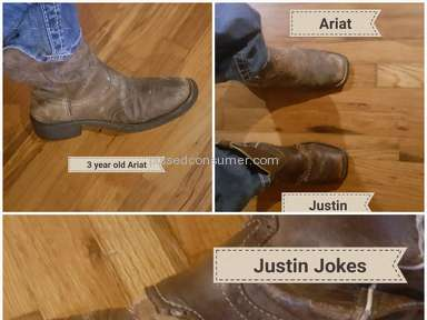 Justin Boots - Complaint