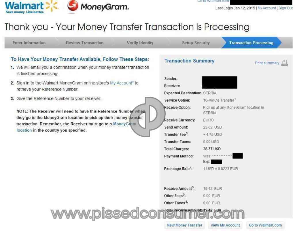 Walmart Wire Money Online - WIRE Center •