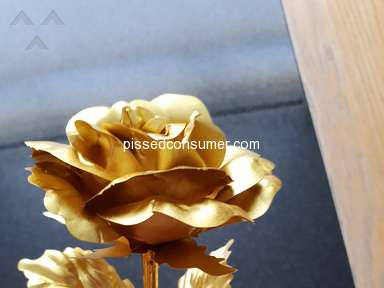 Florence Scovel Forever Gold Rose Artificial Flowers review 318440