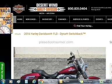 Harley Davidson Sales Representative review 210714
