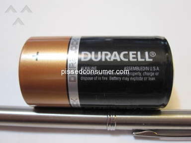 Duracell - Not made in the USA, only assembled in USA