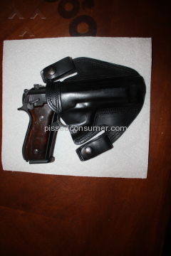 Falco Holsters Side Snap Holster