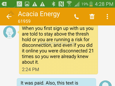Acacia Energy Electricity Supply review 212316