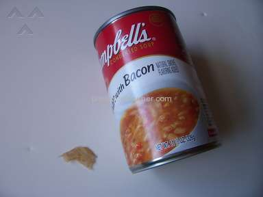 Campbells Soup - More Than Beans in the Campbell's  Bean with Bacon Soup