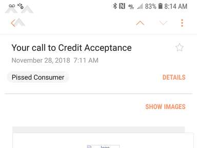 Credit Acceptance - Called name that is degrading