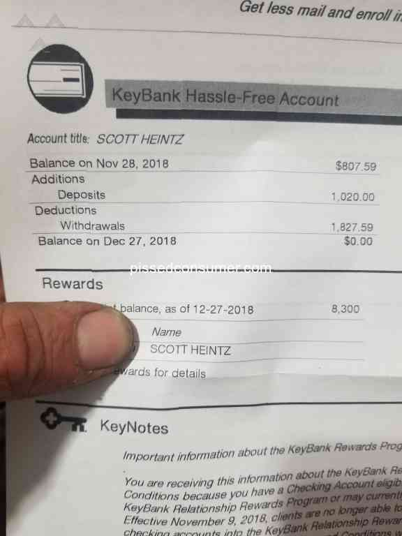 Key Bank Usa Account Reviews and Complaints