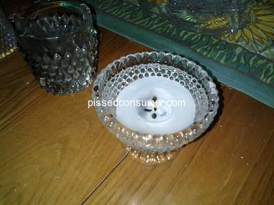 Joann Fabric - Flameles real wax LED votives with realistic black flame were lit with match