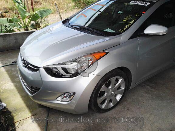 2012 Hyundai Elantra Car