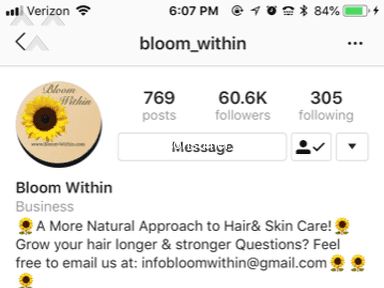 Bloom Within - SCAM!! NO PRODUCT RECEIVED