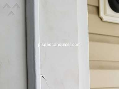 Masonite - Door was cracked at time for delivery