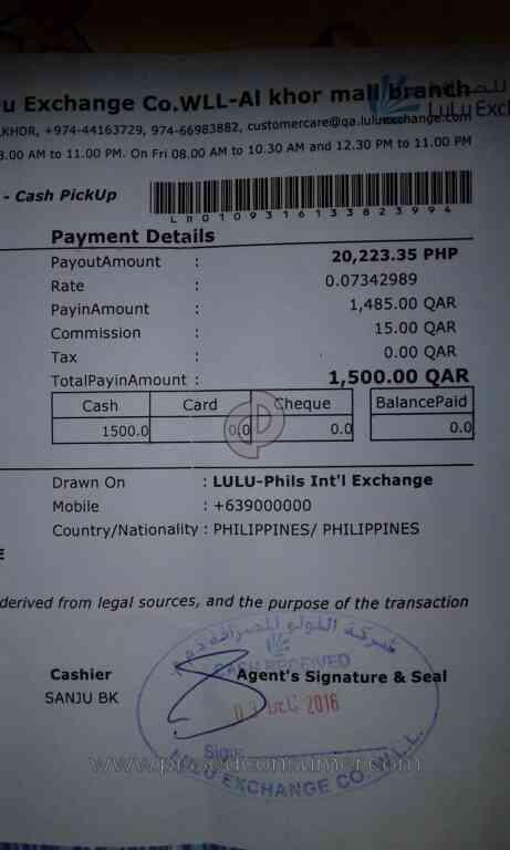 Mlhuillier International Money Transfer Review 178336