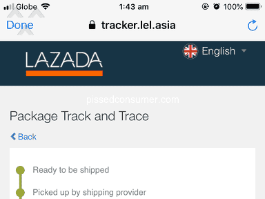 Lazada Philippines - DELIVERY ISSUE