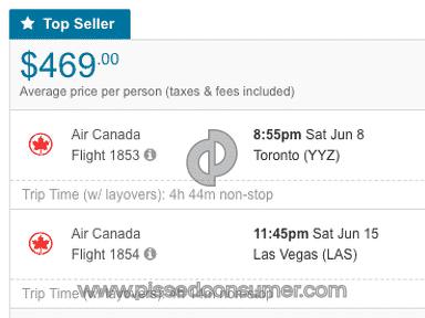Flighthub - False Price Advertising