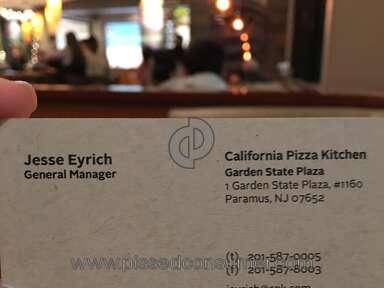 California Pizza Kitchen - Rude manager Jesse Eyrich