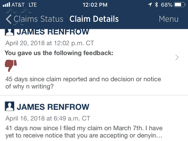 USAA Auto Claim review 284638
