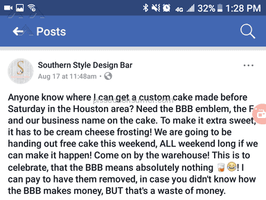 Southern Style Design Bar Shipping Service review 225832