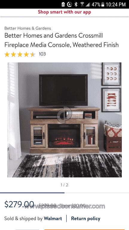 Sauder Furniture   Falsely Advertising