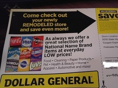 Dollar General Corporation - Coupon