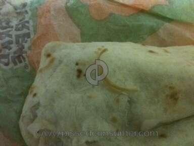 Taco Bell Burrito review 5745