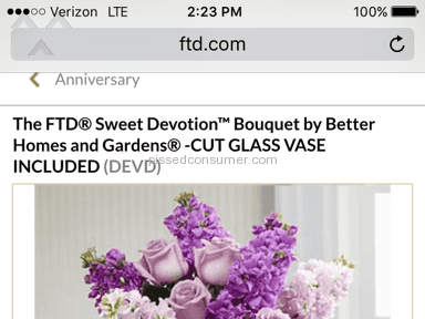 Ftd - Bouquet Review from Billings, Montana