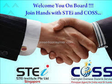 STEi Institute - STEI and COSS Fraud Singapore