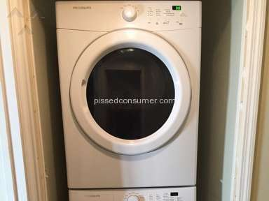 Brand New Frigidaire Washer Defective Right Out of Box