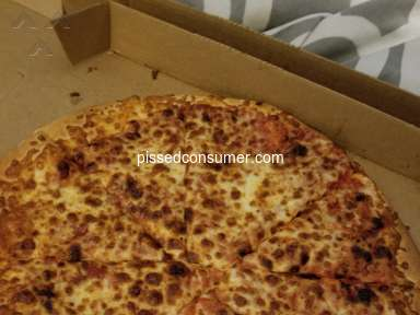Little Caesars - Bought for Burned pizzas, nothing was done about it!!
