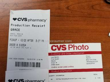 Cvs Photo - So Very Disappointed