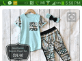 Screaming Owl - Southwest Sequin Capri Set Outfit Review from Lake Jackson, Texas