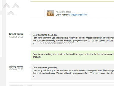 AliExpress - No Response on Customer Service