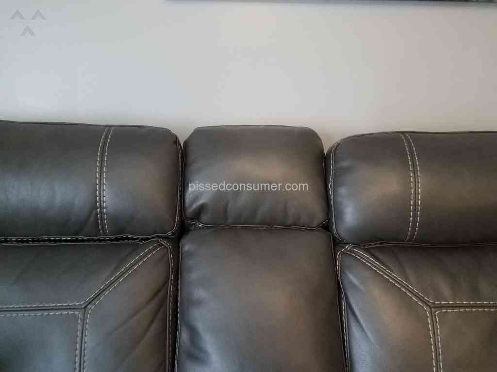 3 Levin Furniture Southern Motion Leather Sofa Reviews And