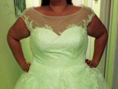 Dhgate Wedding Dress review 211436
