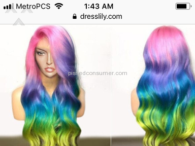 Dresslily Synthetic Wig review 265936