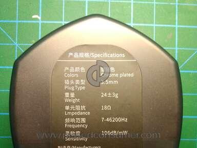 Gearbest Kz Audio Kz-ed9 In-ear Headphones review 245990