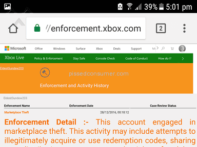 CJS CD Keys - BANNED BY XBOX FOR MARKETPLACE THEFT!