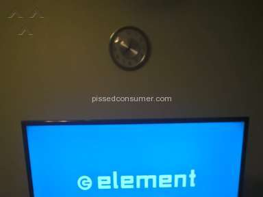 Element Electronics - TV SHUTS OFF AFTER 5 SECONDS
