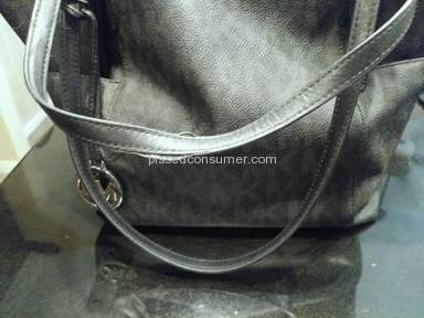 MICHAEL KORS HANDBAGS---POOR QUALITY