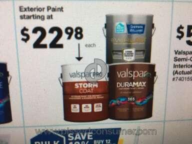 Lowes Valspar Paint review 435372