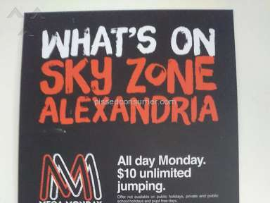 Skyzone - Wednesday 'roll the dice' is a scam