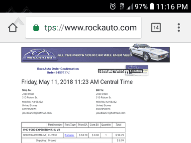 Rockauto Car Radiator review 293768