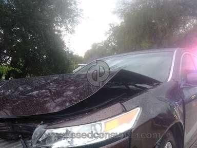 Bridgecrest - Car crash
