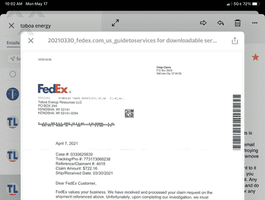 FedEx Standard Delivery Service review 1003991