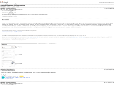 GeekChimpDesign - GeekChimp Scam - Never delivers or shows proof of web design and ignores request for refund